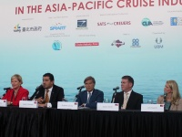 State of the Industry Panel at Cruise Shipping Asia-Pacific.