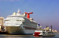 Carnival Conquest in New Orleans (port photo)