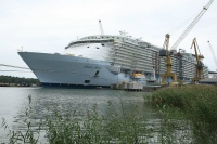 Oasis of the Seas under construction at STX Finland