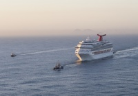 The Carnival Splendor under tow in 2010. (photo: USCG)