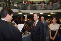 Philip Levine is sworn in