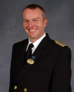 Captain Ed Perrin will lead the senior officer team aboard the new Regal Princess.