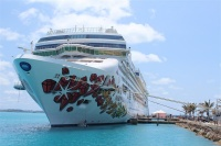 The U.S. cruise market could benefit from strong international travel growth to the States. Photo: Norwegian Gem in Bermuda/Cruise Industry News