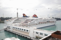 Star Cruises ships at the Singapore Cruise Centre
