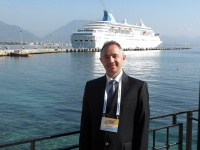 Marketing Director of Alanya Cruise Port, Captain Haluk Sayman.