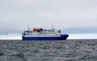 Expedition cruise vessel MV Quest with Alks, Svalbard by Ilja Leo Lang
