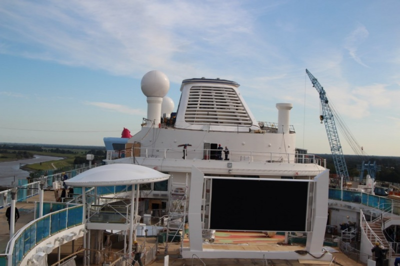 Construction ongoing in Papenburg (photo: Cruise Industry News)