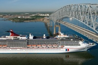 Carnival Pride sails from Baltimore