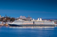 Holland America ship in Quebec