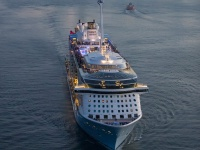 The Quantum of the Seas launched with scrubbers already installed