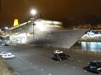 P&O Cruises Oriana in Funchal on Feb 19, 2014 (photo: Sergio Ferreira)