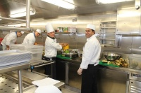 Galley Staff Aboard Norwegian Getaway