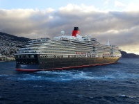 The Queen Victoria sails for the Cunard Line brand. (photo: Sergio Ferreira)