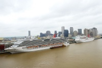 Carnival Dream and Elation in New Orlean