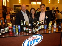 Ron Schroeder, director of the travel retail and leisure team, MillerCoors. (left)