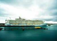 Allure of the Seas at Grand Bahamas Shipyard