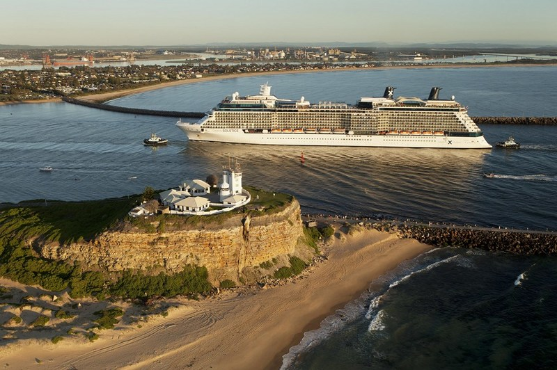 Celebrity Solstice in Newcastle