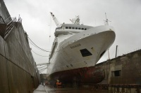 Voyager at Lloyd Werft