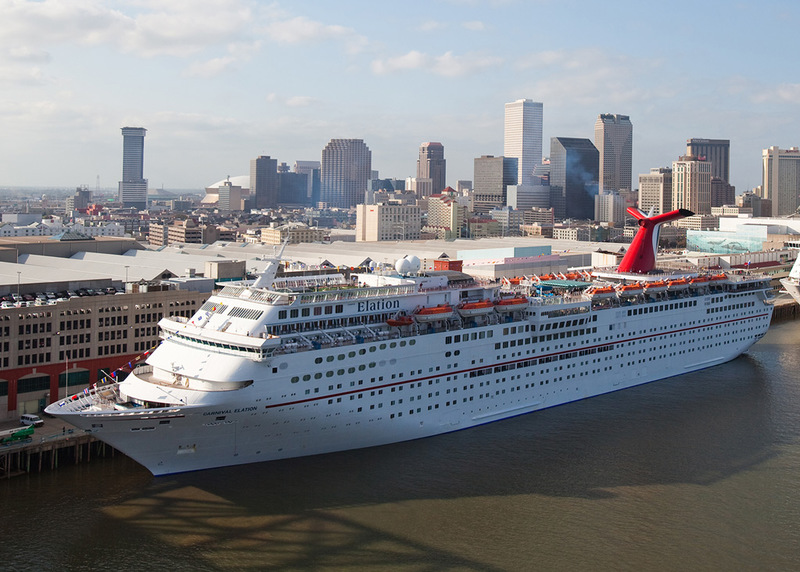 Carnival Elation in New Orleans