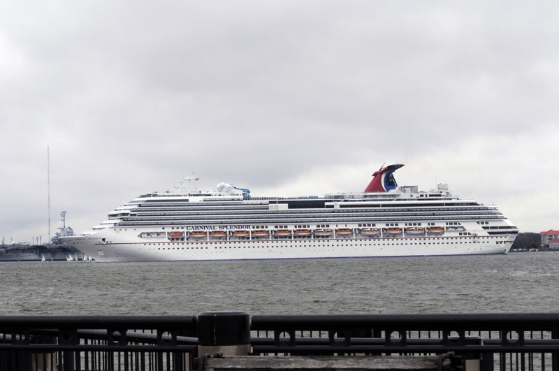 Carnival Splendor in Charleston