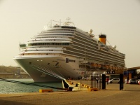 The new Costa Diadema (photo: Sergio Ferreira)