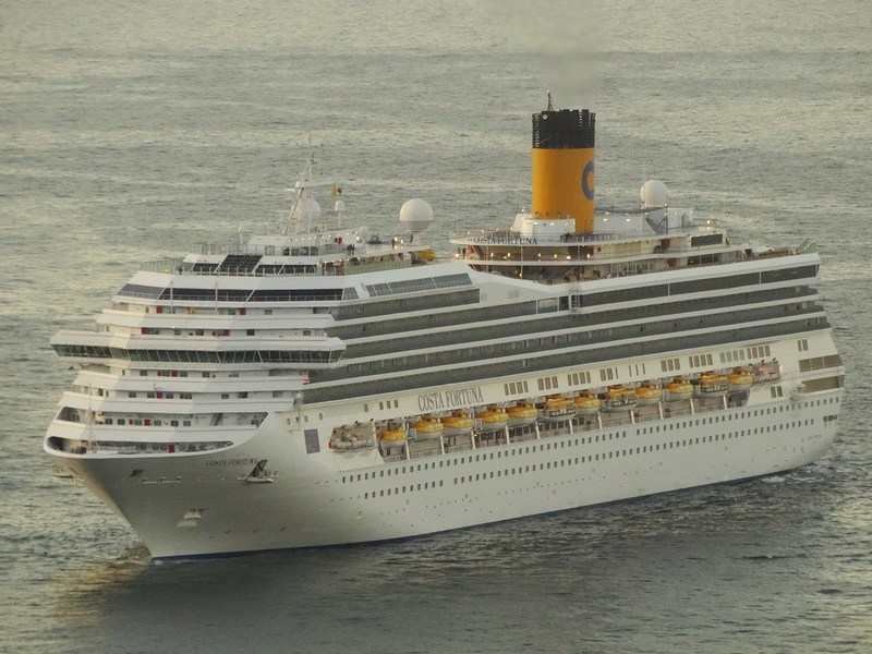 The Costa Fortuna will make it for ships in Asia come 2016.
