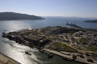 New port infrastructure coming online in the Russian Far East could help deployment in the region.