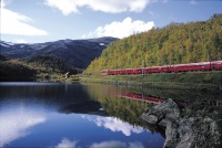Integrating a scenic rail route into a cruise package may be appealing to passengers in Norway.
