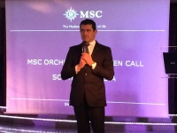 MSC Cruises CEO Gianni Onorato