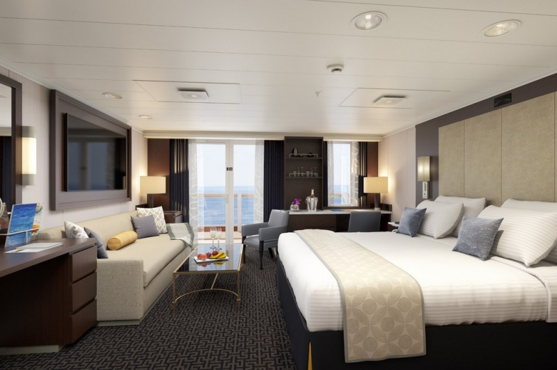 Eurodam Signature Suite rendering