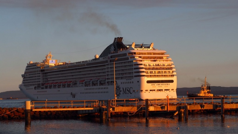 MSC made its maiden call in Albany earlier this year.