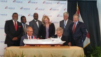Carnival's Terry Thornton and Mobile Mayor Stimpson Sign Contract for Carnival Fantasy to Sail from Mobile Next Year