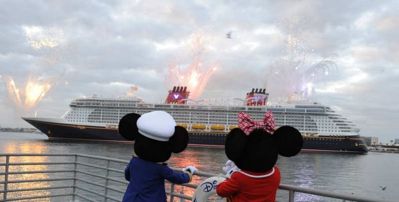 Disney Dream Arrival