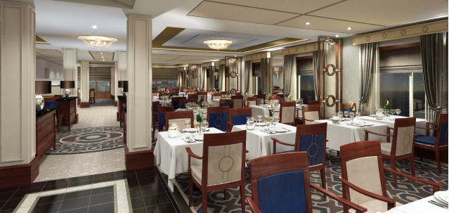 Princess Grill Restaurant Rendering