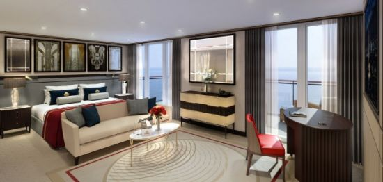 Queens Grill Suite Rendering
