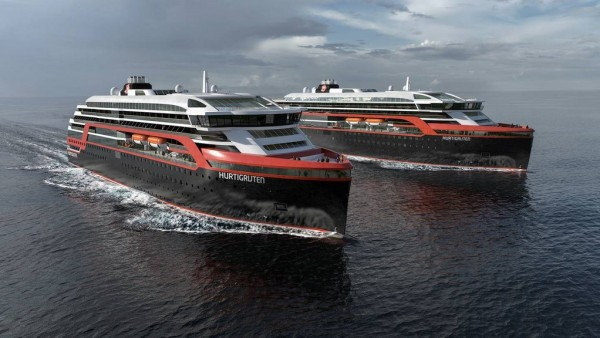 Hurtigruten Orders Two New Ships For 2018 And 2019