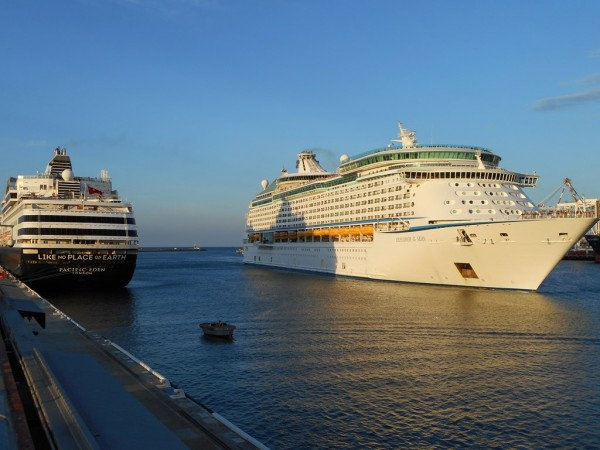 Pacific Eden and Explorer of the Seas in Fremantle
