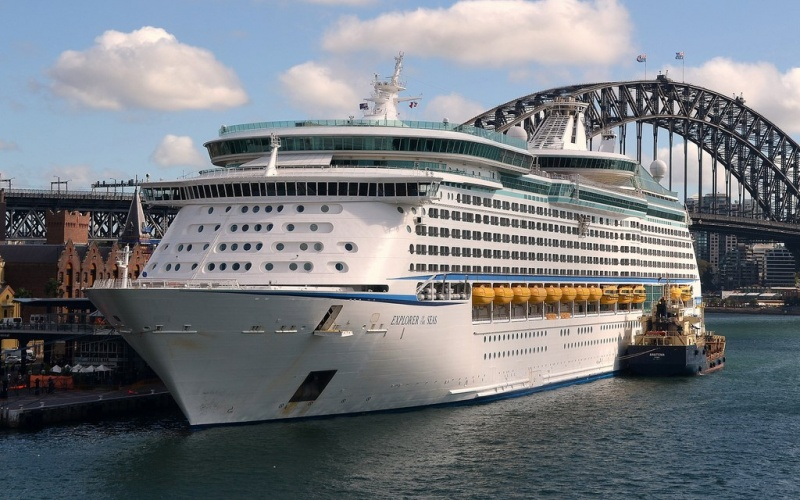 Explorer of the Seas in Sydney. (photo: Clyde Dickens)