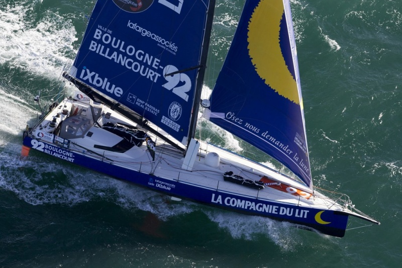 Bureau veritas engineer competing in world yacht race cruise