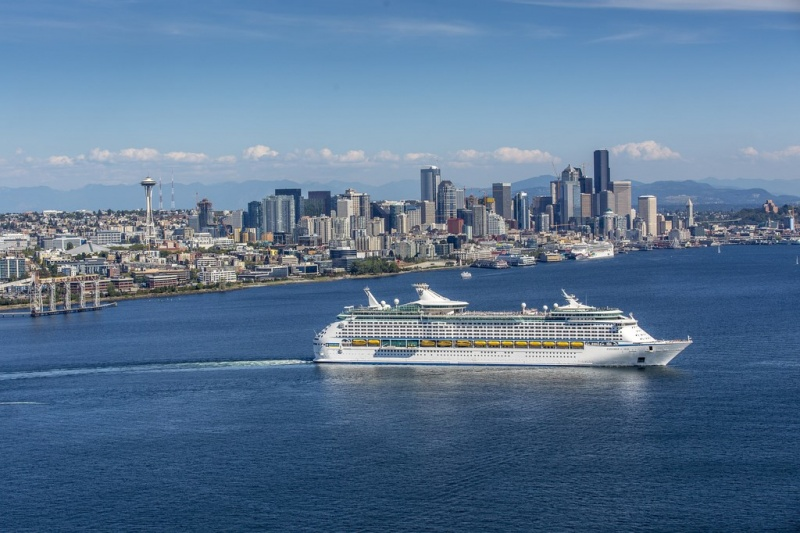 The Explorer sails from Seattle