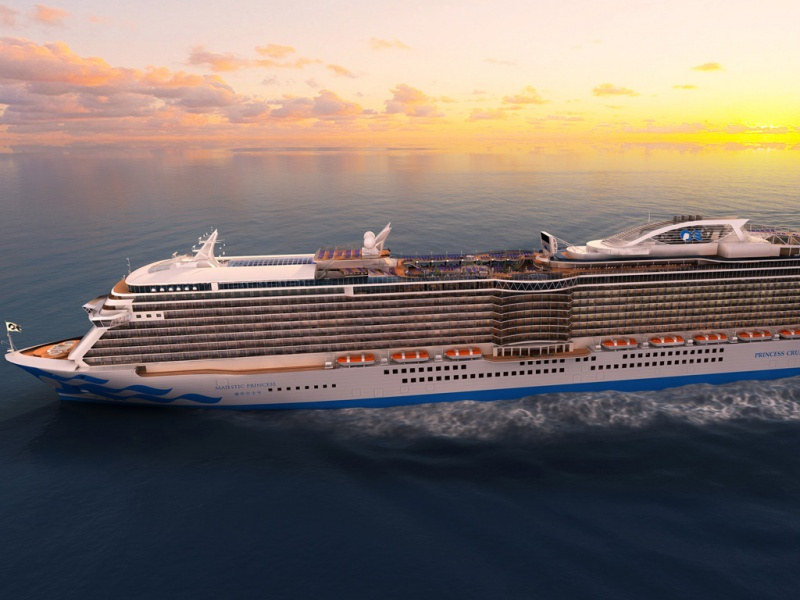 The Majestic Princess will be based in China starting next summer