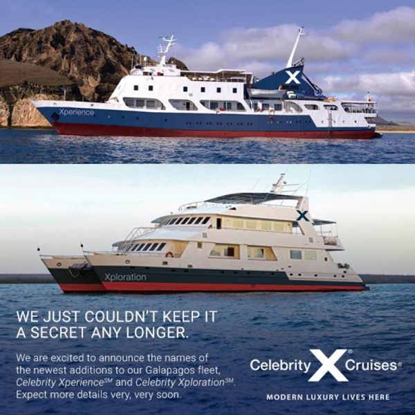 new celebrity galapagos ships named   cruise industry news