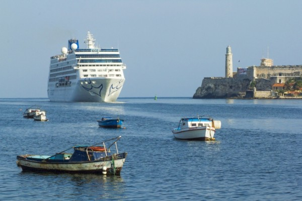 The Adonia arrives in Cuba