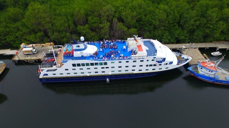 Endeavour II ready to join the Lindblad fleet