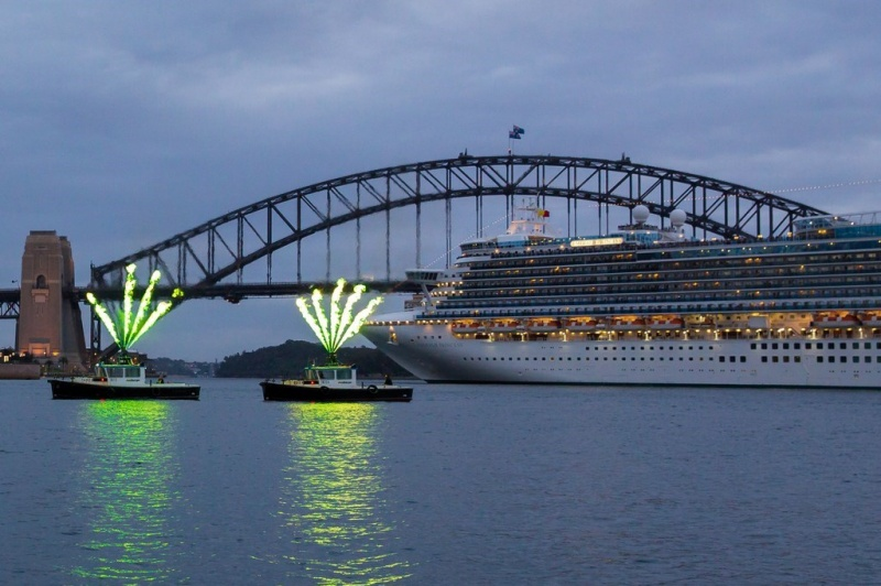 Emerald Princess in Sydney