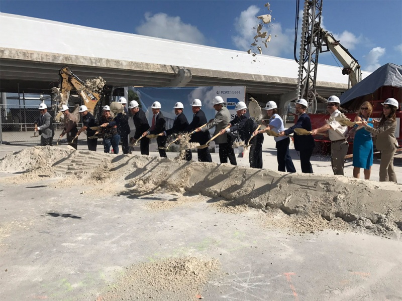 Breaking Ground on Terminal F in Miami