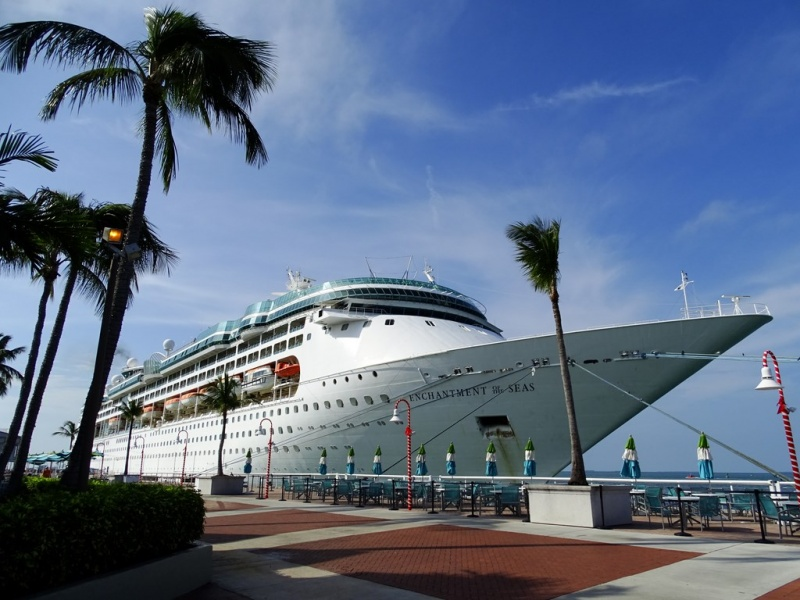 Enchantment of the Seas in Key West