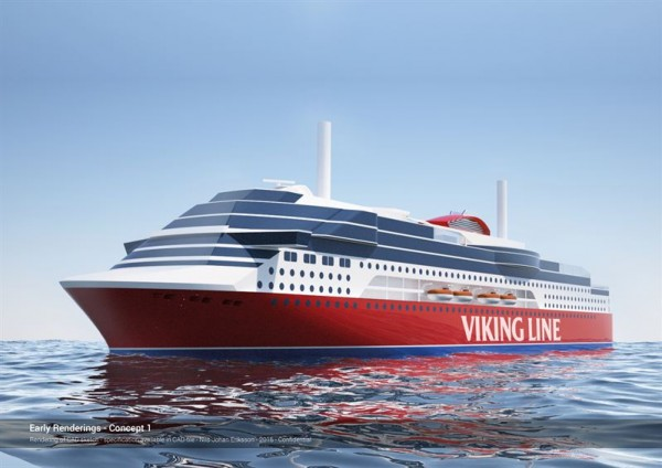 New Viking Ship Rendering