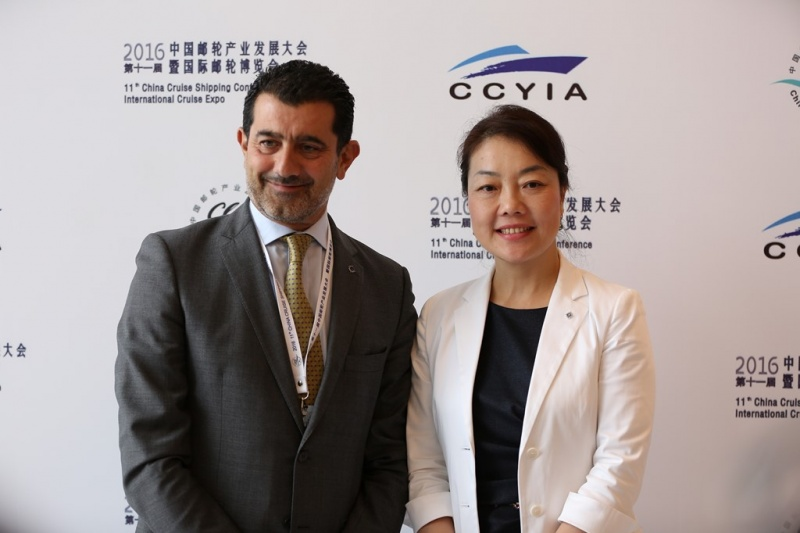 From left: Gianni Onorato and Helen Huang