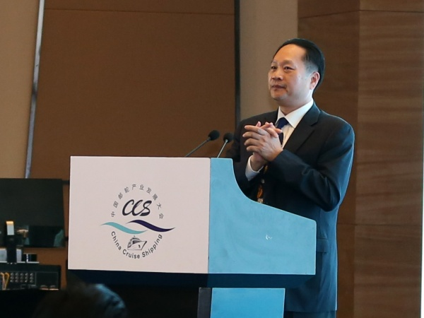 Weihang Zheng, executive vice chairman and secretary general, China Cruise and Yacht Industry Association